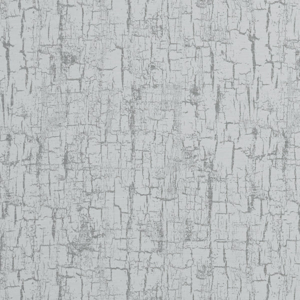 Birch Curtain Fabric Silver