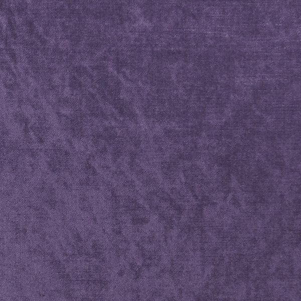 Allure Velvet Curtain Fabric Grape