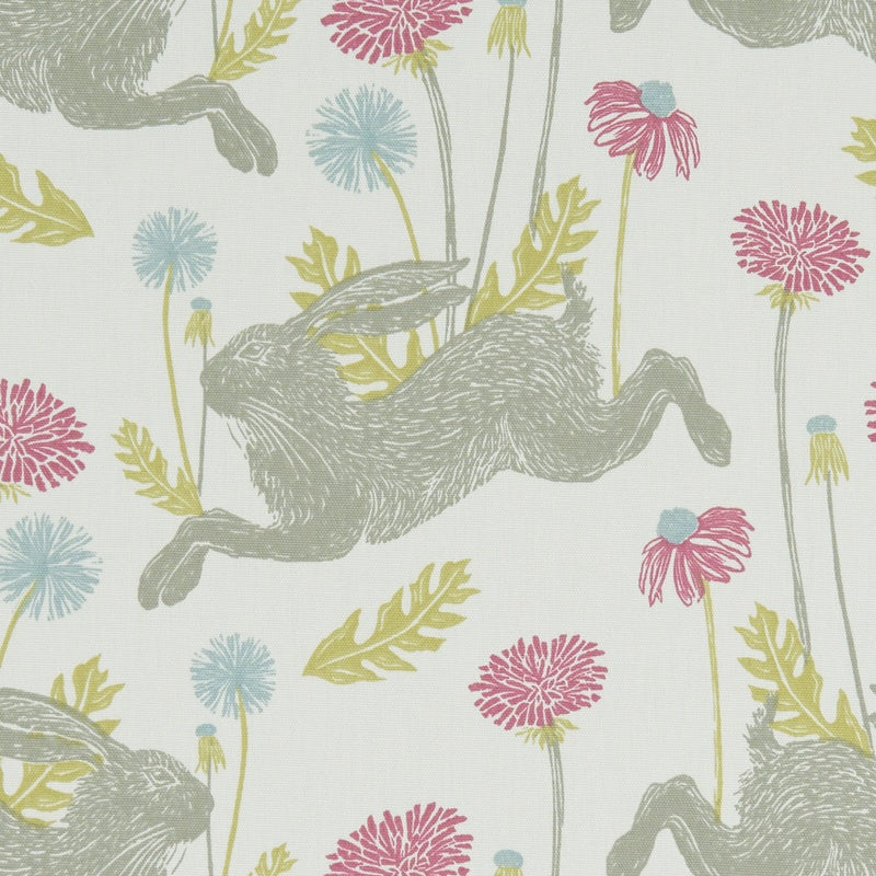 Clarke And Clarke Fabrics March Hare Curtain Fabric Summer Picture