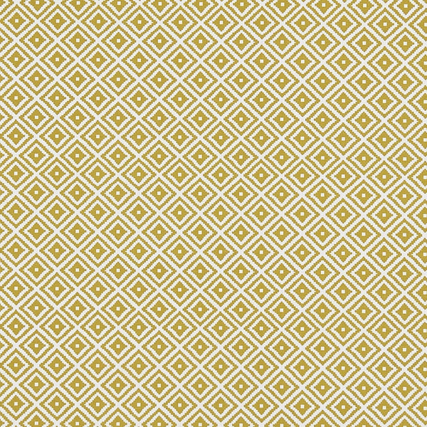 Kiki Curtain Fabric Ochre