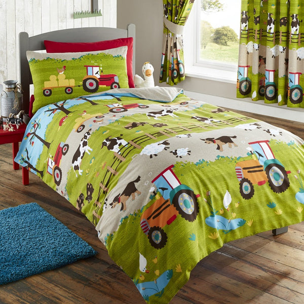 Farmyard Kids Bedding Set Multi
