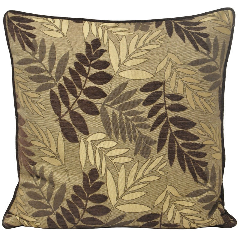 Riva Cushions And Throws Fern C/cover Mocha Picture