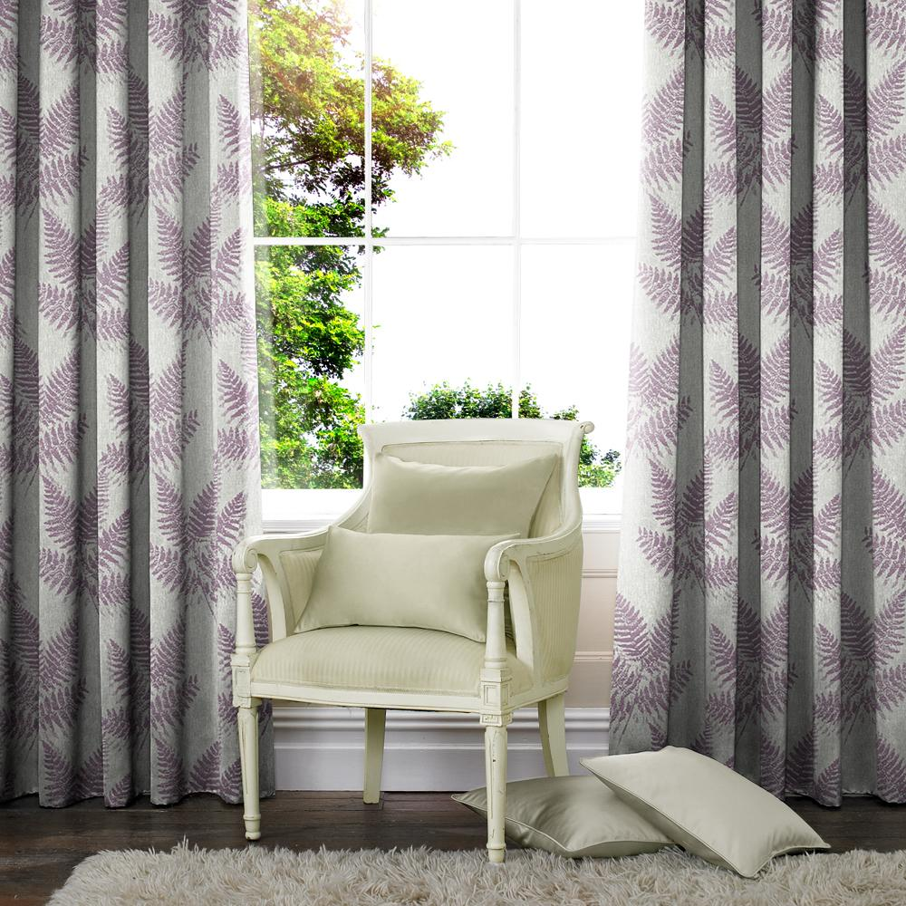 Belfields Made to Measure Curtains  Acacia Made to Measure Curtains Heather
