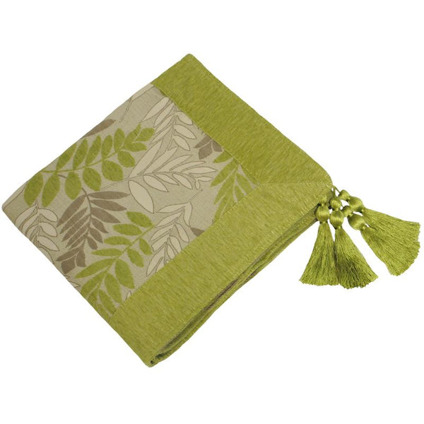 Fern Throw Green