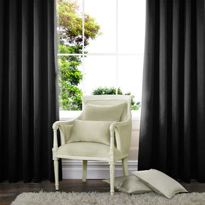 Aves Made to Measure Curtains Black