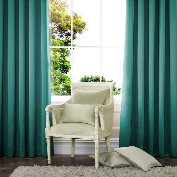 Aves Made to Measure Curtains Teal