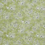 Finch Toile Curtain Fabric Willow