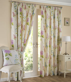 Firenze Ready Made Lined Curtains Multi