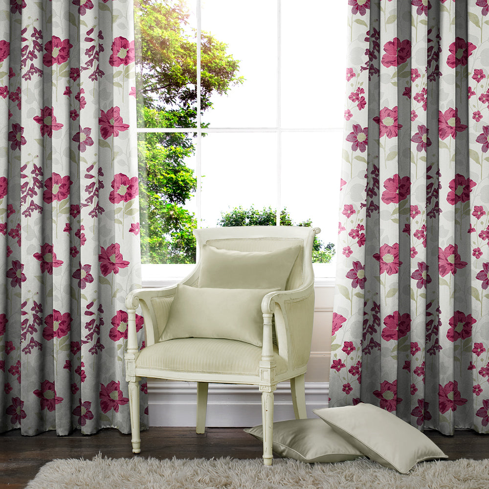 Belfields Made to Measure Curtains Wiltshire Made to Measure Curtains Fuchsia