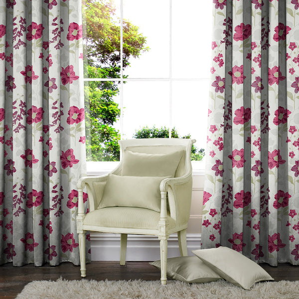 Wiltshire Made to Measure Curtains Fuchsia