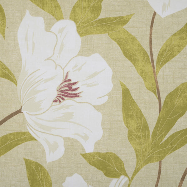 Floral Burst Roman Blind Green
