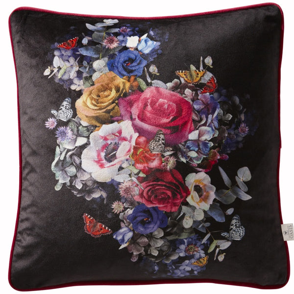 Oasis - Florianna Bedding Collection Black Multi
