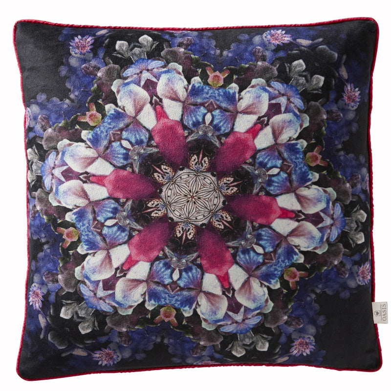 Clarke and Clarke Cushions and Throws Oasis - Florianna Kaleidoscope  ... Picture