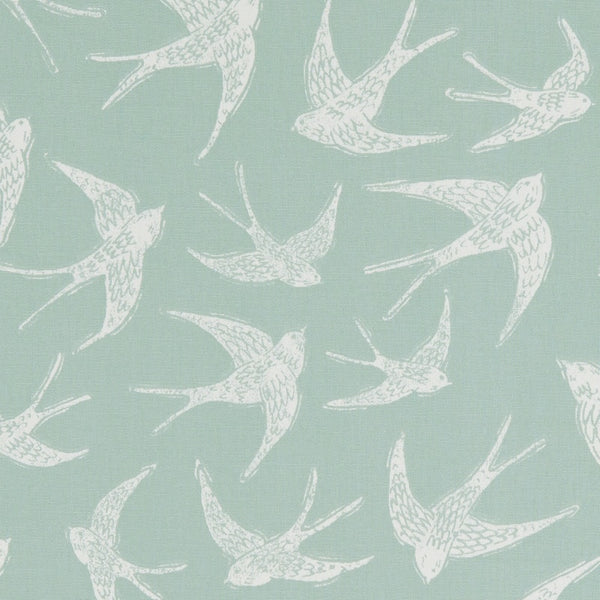 Fly Away Curtain Fabric Mineral
