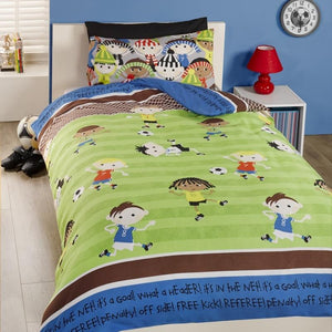Football Friends Bedding