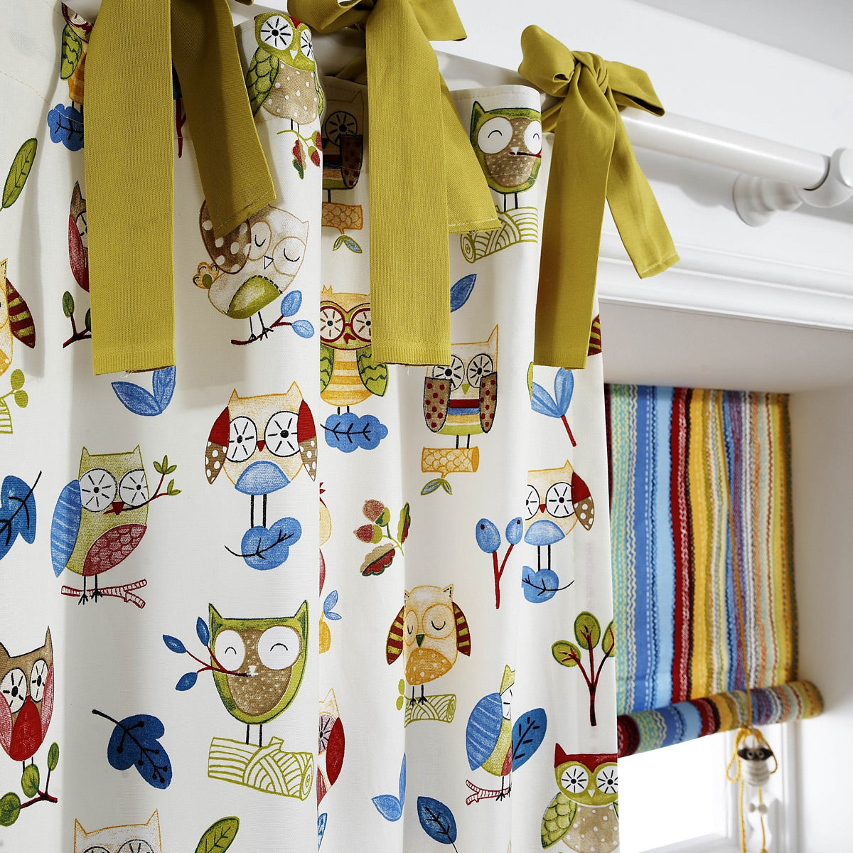 Nature Trail Curtain Fabric Paintbox