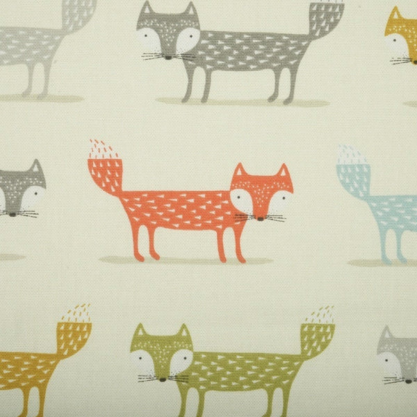 Foxy Curtain Fabric Multi