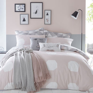Appletree - Fragments Bedding Set Blush