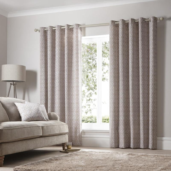 Franklin Ready Made Eyelet Curtains Copper