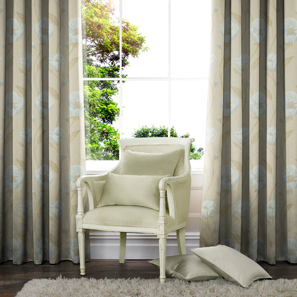 Alba Made to Measure Curtains Azure
