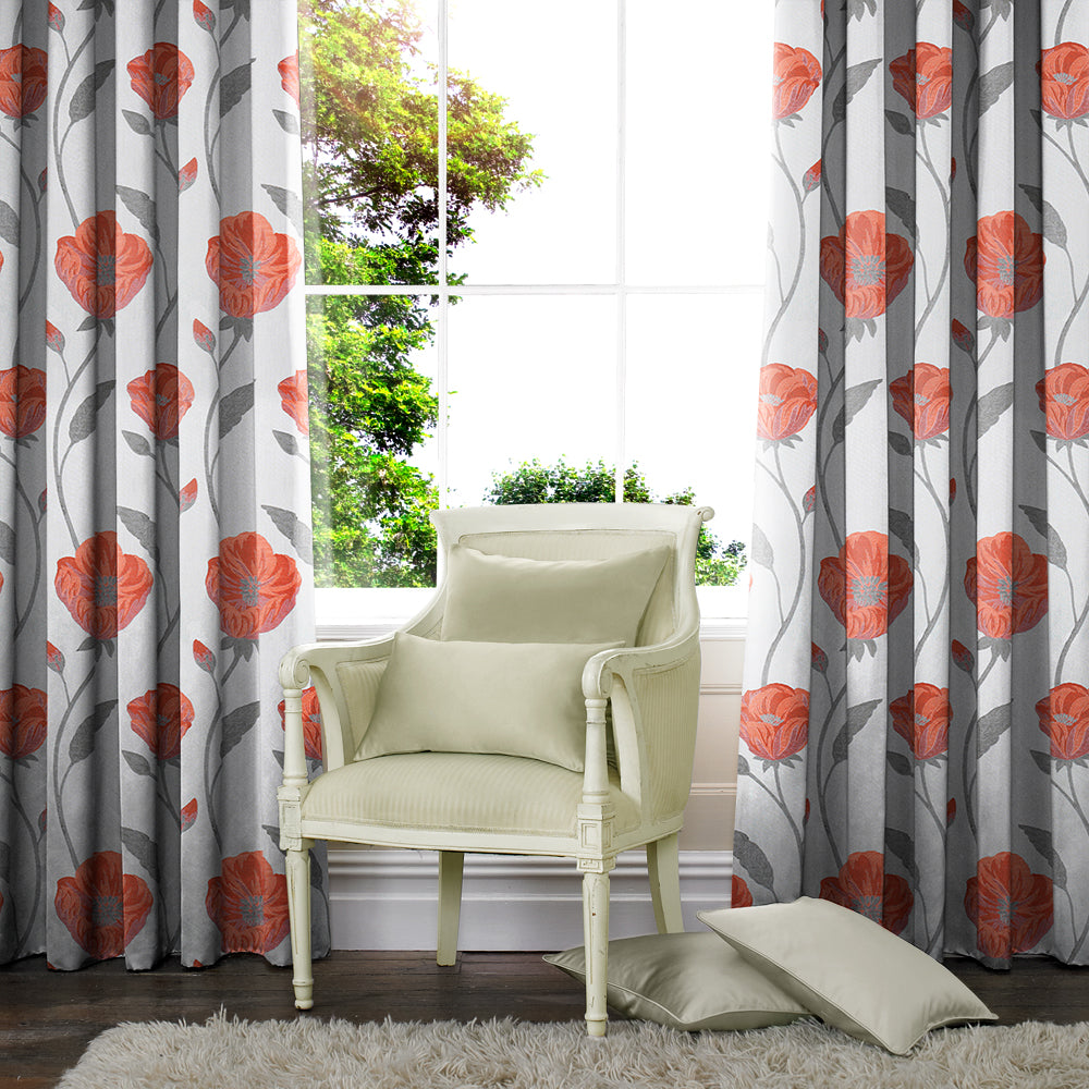 Belfields Made to Measure Curtains Alba Made to Measure Curtains Spice Picture