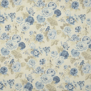 Genevieve Curtain Fabric Chambray