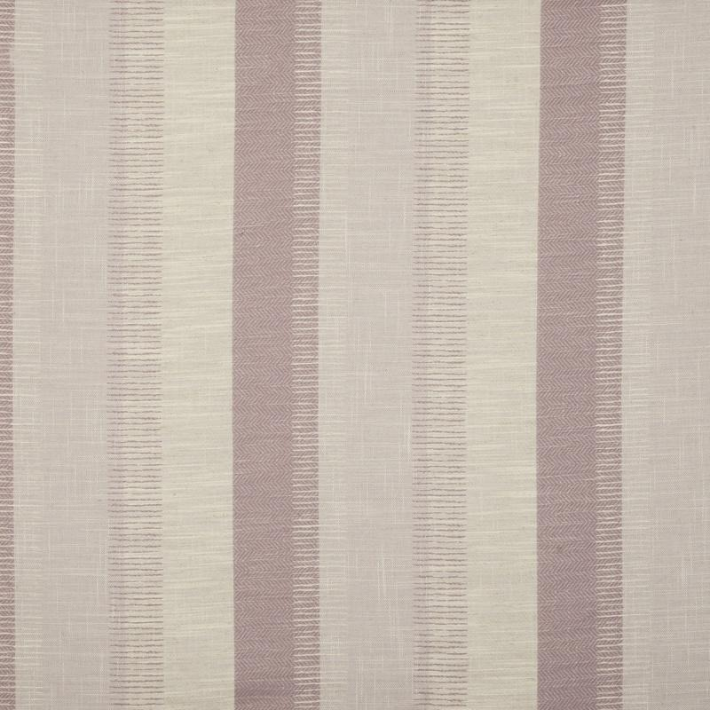 Fryetts Fabrics Genoa Stripe Curtain Fabric Heather Picture