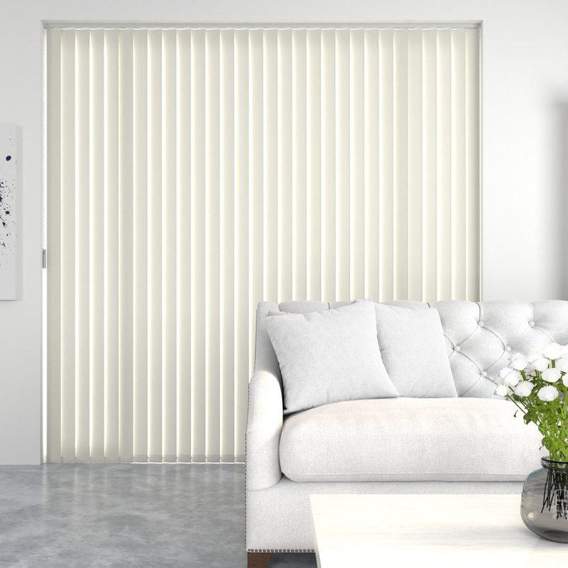 Decora Blinds Geo Vertical Blind Sand Picture