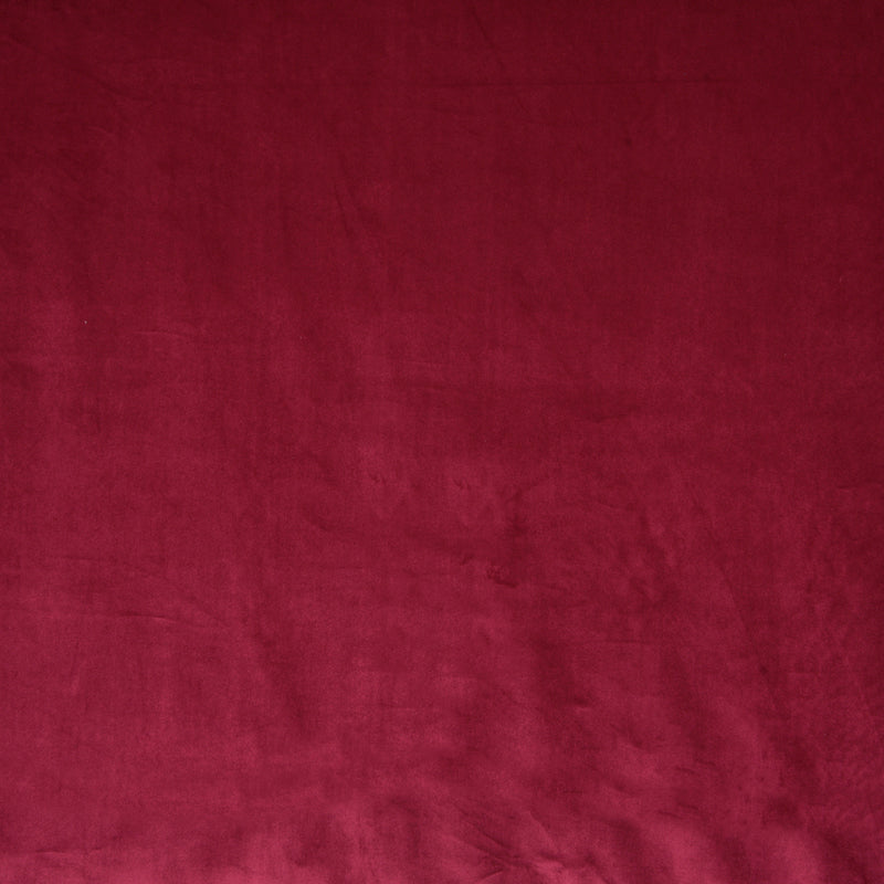 Fryetts Fabrics Glamour Velvet Curtain Fabric Cranberry Picture