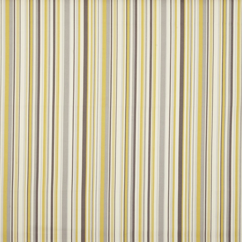 Fryetts Fabrics Goa Stripe Curtain Fabric Chartreuse Picture