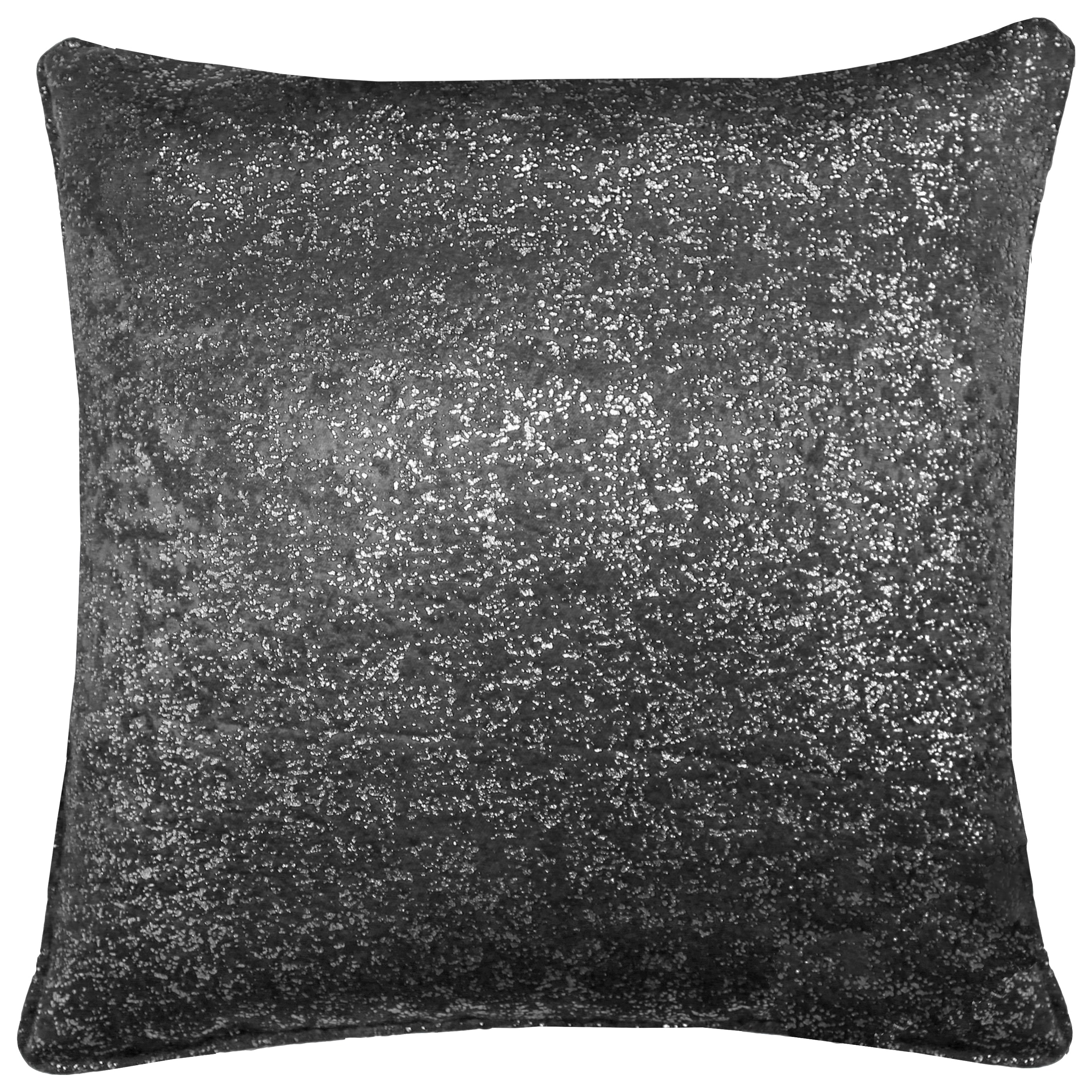 Halo Cushion Cover 17 x 17 Charcoal