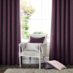 Harper Made to Measure Curtains Aubergine