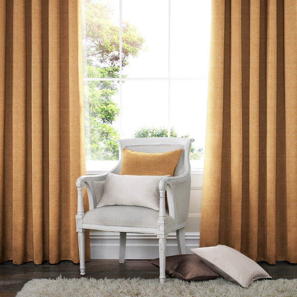 Harper Made to Measure Curtains Rust
