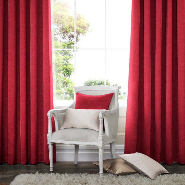 Harper Made to Measure Curtains Scarlet