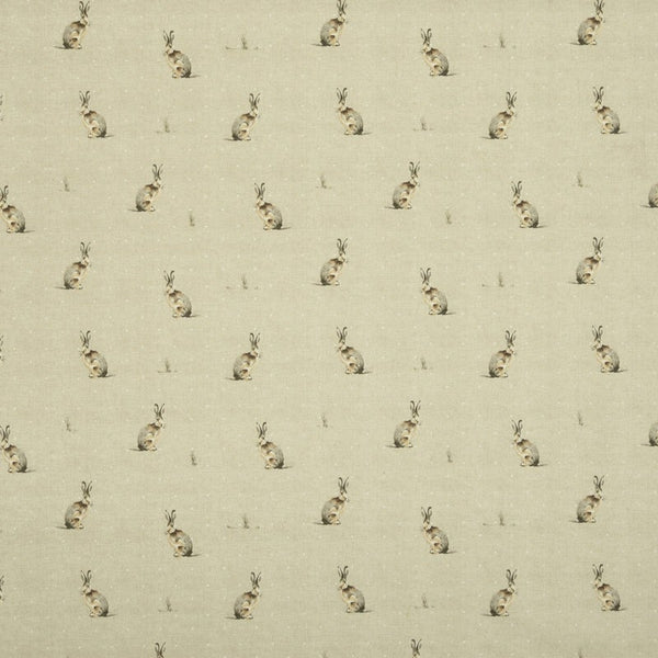 Hartley Curtain Fabric Natural