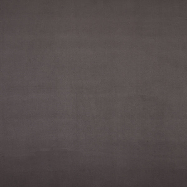 Heavy Faux Suede Curtain Fabric Charcoal