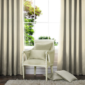 Heavy Weave Made to Measure Curtains Cream