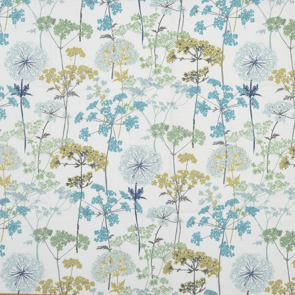Hedgerow Curtain Fabric Pistachio