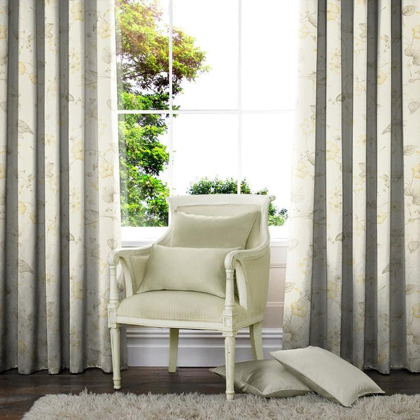 Ohio Made to Measure Curtains Lemon