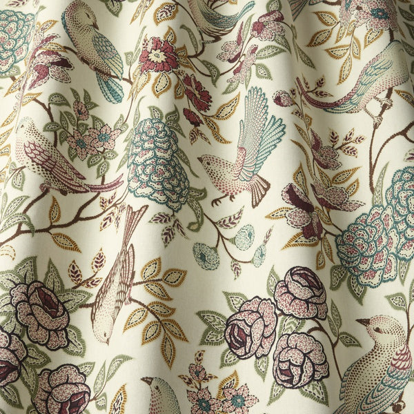 Heritage Curtain Fabric Fern