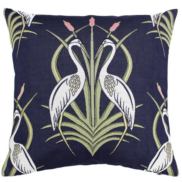 The Chateau - Heron on the Moat Bedding Set Navy