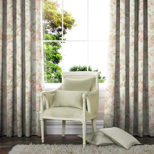 Camilla Made to Measure Curtains Rose