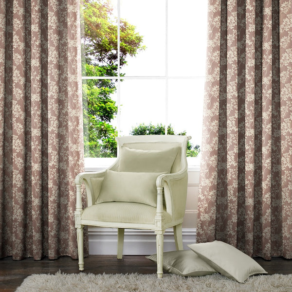Moria Made to Measure Curtains Blush