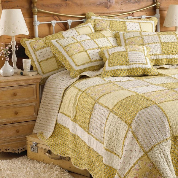 Honeybee Bedspread Yellow