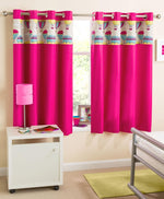 Horizon Ready Made Blockout Curtains Pink