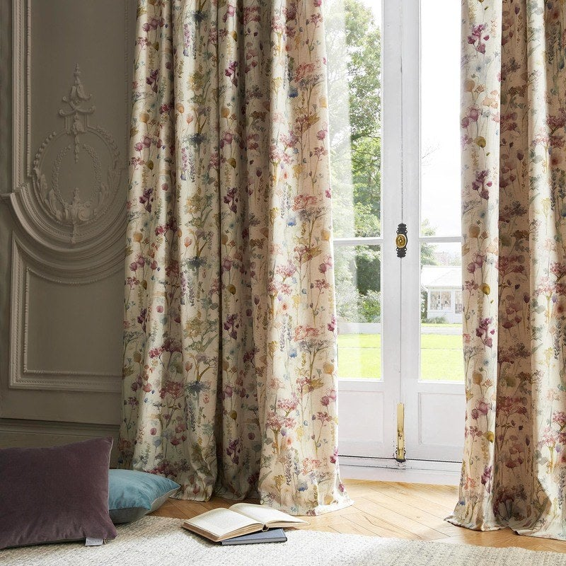 Ashley Wilde Ready Made Curtains Voyage Ilinizas Ready Made Curtains Poppy Picture