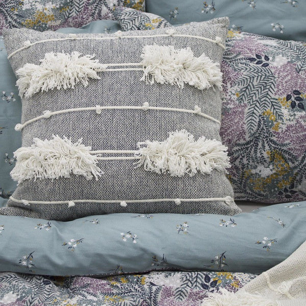 FatFace - Winter Ferns Bedding Collection Grey - Teal