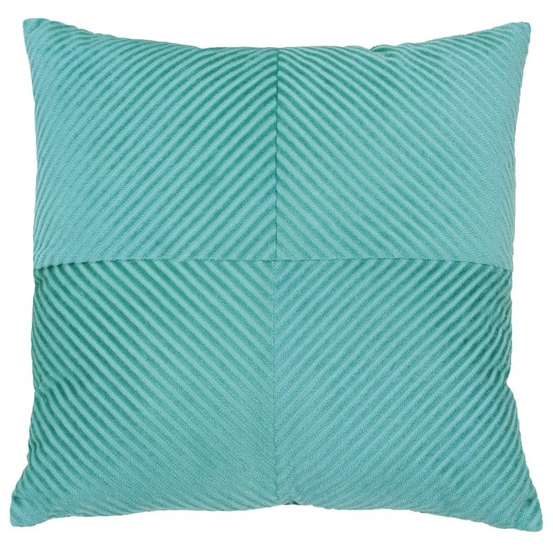 Riva Cushions And Throws Infinity C/cover Small Mineral Blue Picture