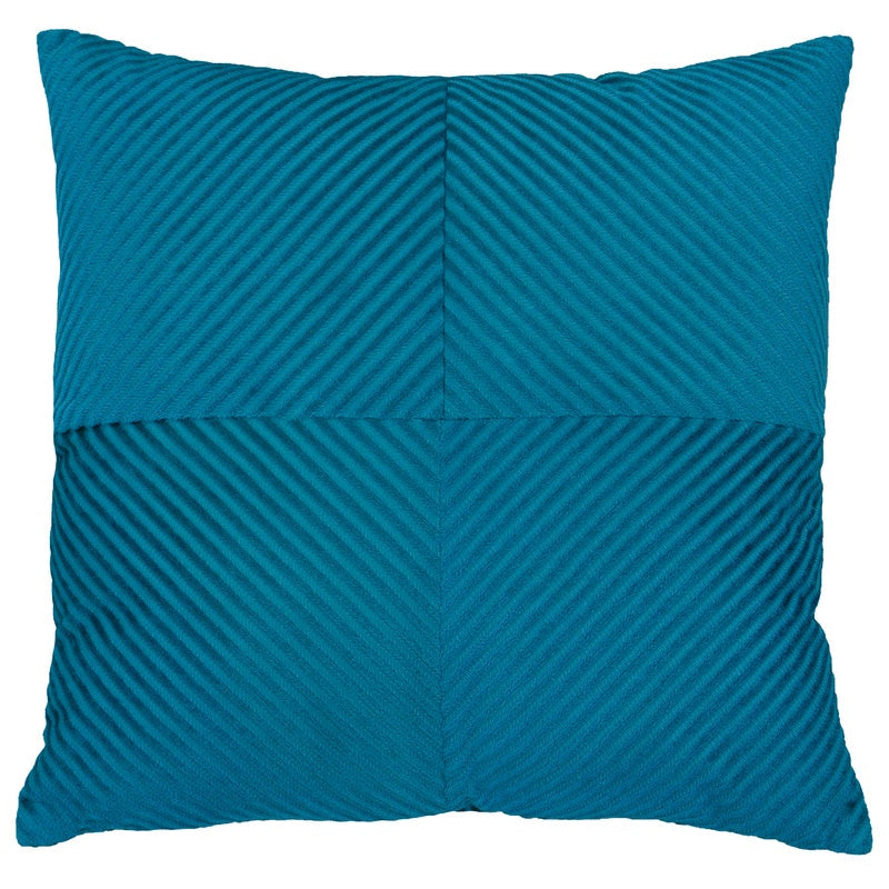Riva Cushions And Throws Infinity C/cover Small Petrol Picture