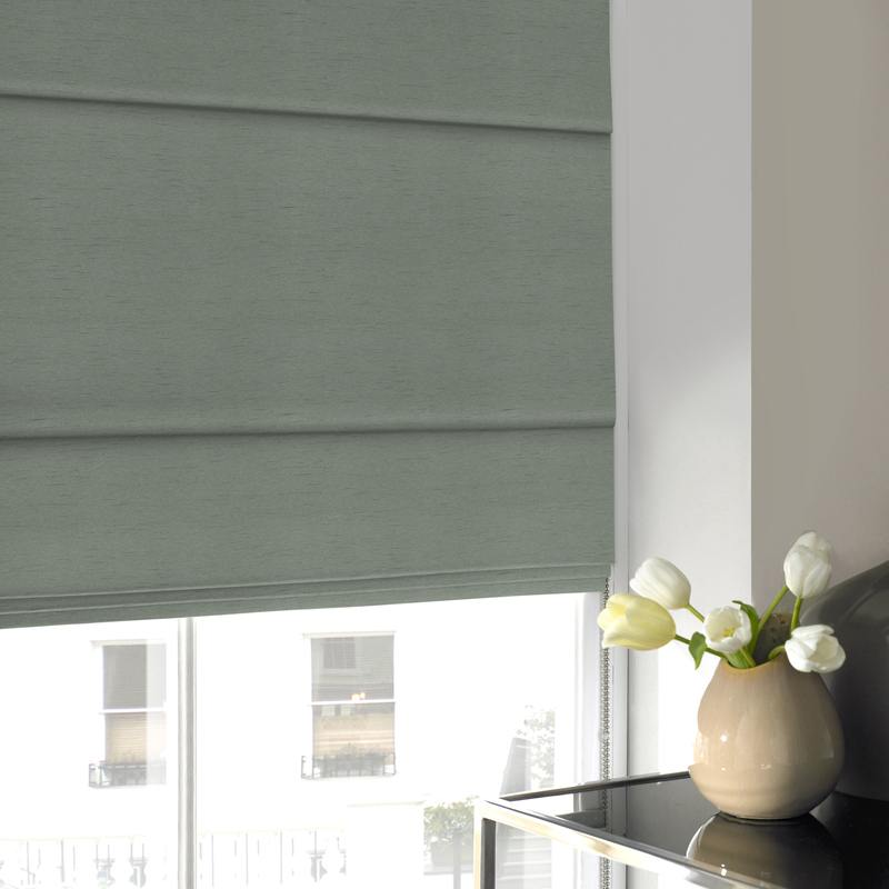 Illuminate Blinds Iowa Roman Blind Azure Picture
